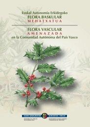 Euskal Autonomia Erkidegoko flora baskular mehatxatua