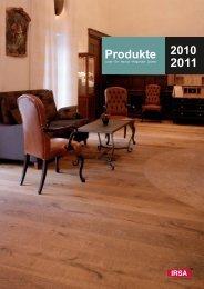 Produkte 2010 2011 - inhema