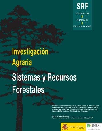 Sistemas y Recursos Forestales - Inia