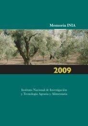 Memoria INIA 2009