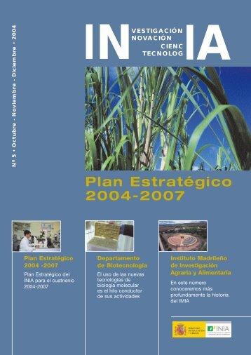 Plan Estratégico 2004-2007 - Inia