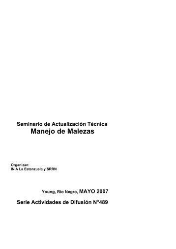 Acceda a la publicación en formato pdf (2.8 Mb). - Inia