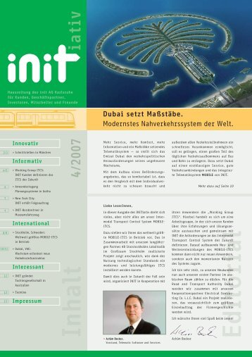 Ausgabe 4/2007 - Init