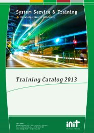 Our training catalog can be found here - Init