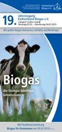 Biogas - Initiative CO2