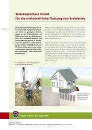 Teleskopierbare Sonde für die wirtschaftliche ... - Initiative CO2