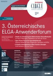 Programm - Initiative-ELGA