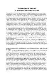 PDF (119 KB) - Initiative gegen Abschiebehaft