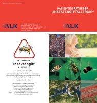 Patientenratgeber Insektengiftallergie - Initiative Insektengift Allergie