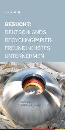 Wettbewerbsflyer zum Sonderpreis Recyclingpapier ( 1.0 MB)