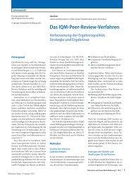 peer review verfahren