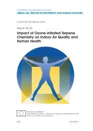 Impact of Ozone-initiated Terpene Chemistry on Indoor Air ... - inive