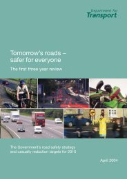 5399-DfT-Road Saftey Review - Injury Observatory for Britain and ...