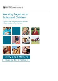 Working together to safeguard children - Forced Marriage
