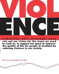 Violence Reduction Unit Strategic Plan
