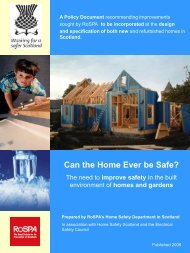 Can the Home Ever be Safe? - Injury Observatory for Britain and ...