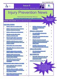 8th Issue.pub - Injury Observatory for Britain and Ireland