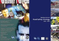 northern ireland road safety strategy 2002 – 2012 - Department of ...