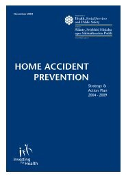 home accident prevention - Injury Observatory for Britain and Ireland