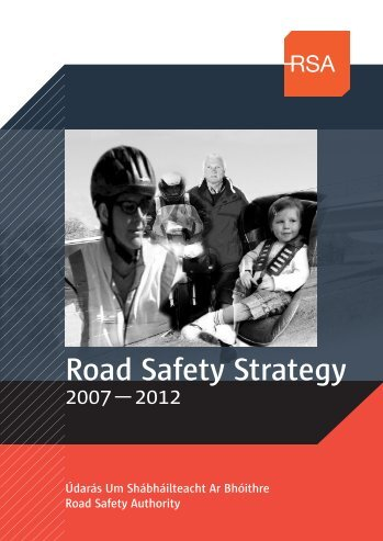 Ireland's third Road Safety Strategy - Department of Transport