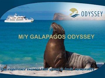 M/Y GALAPAGOS ODYSSEY - Inkas Empire Tours