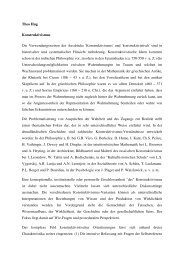 Theo Hug Konstruktivismus Die ... - Inklusion Lexikon