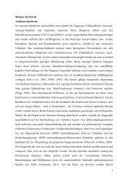 Melanie Eberhardt Autismus-Spektrum Im ... - Inklusion Lexikon