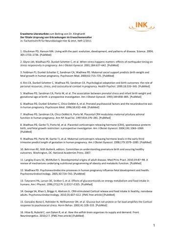 Erweiterte Literaturliste Klinghardt_2_2011 - INK