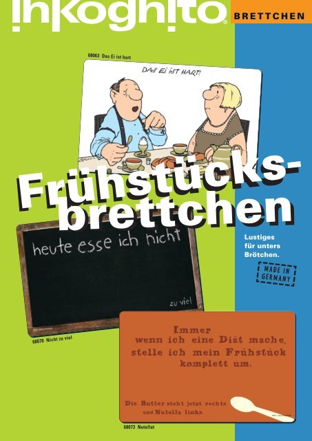 "Frühstücksbrettchen /""Hühner/"" 23,5 x 14 cm"
