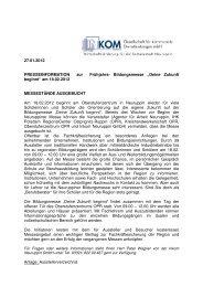 PRESSEINFORMATION 27012012 - InKom