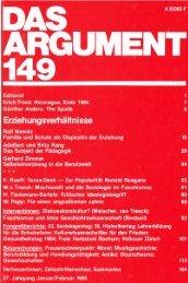 Erziehungsverhältnisse - Berliner Institut für kritische Theorie eV