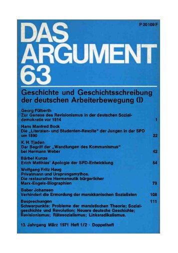 Geschichte und Geschichtsschreibung der deutschen ...