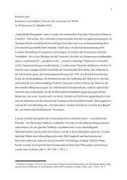 1 Konrad Lotter Rezension von Losurdos Nietzsche der ...