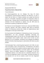 Eingreifendes Denken. Rettende Kritik Thomas Marxhausen Die ...