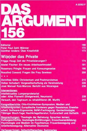 Über Kreativität - Berliner Institut für kritische Theorie eV
