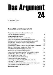 Sexualität und Herrschaft (III) - Berliner Institut für kritische Theorie eV