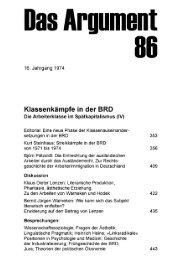 Klassenkämpfe in der BRD - Instituts für kritische Theorie (InkriT)
