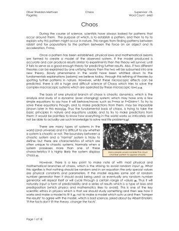 Oliver Sheridan-Methven | PDF - Charterhouse