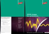 M Surtensions - Dehn + Söhne Blitzschutzsysteme