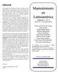 Mantenimiento en Latinoamerica - Page 3