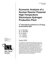 Economic Analysis of a Nuclear Reactor Powered High ...