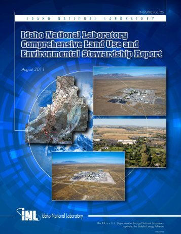 INL Comprehensive Land Use and Environmental Stewardship Report