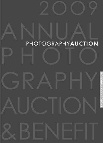 2009 Live Photography Auction section - inMotion Inc.