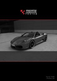 Ferrari F430 Product List - Dimex Group
