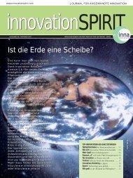 Ist die Erde eine Scheibe? - Innovation Network Austria