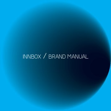 INNBOX / BRAND MANUAL - Innbox - World in A Box