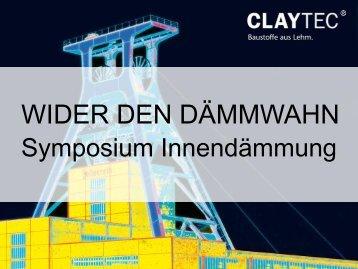 Kein Folientitel - Symposium Innendämmung
