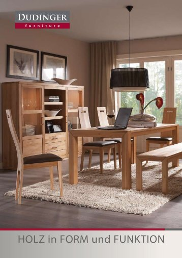 HOLZ in FORM und FUNKTION