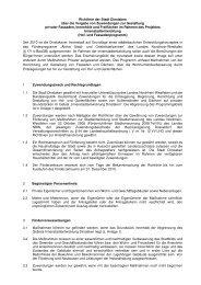 Richtlinie der Stadt Dinslaken über die Vergabe von Zuwendungen ...