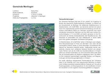 Gemeinde Mertingen - Bayerisches Staatsministerium des Innern